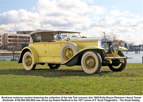 yellow rolls royce 1920 thoughts and plots gatsby s car