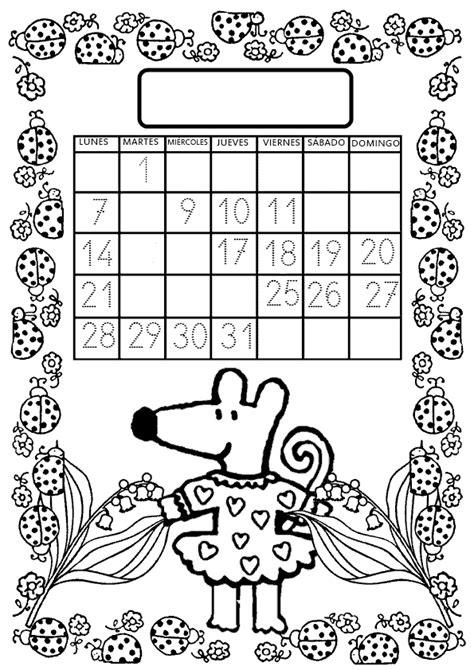 K En El Calendario El Rincon De La Maestra Minimat Y El Calendario De Mayo