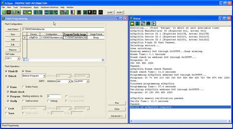 tutorial flash programming jtag flash programming in system flash programmer