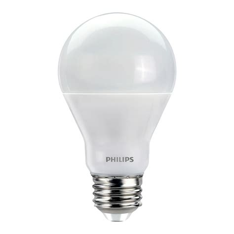 philips a19 led light bulb philips 60w equivalent soft white with warm glow a19