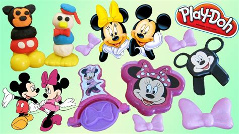 New Play Doh Minnie Mouse mickey minnie mouse play doh playsets doovi
