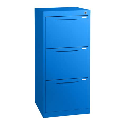 Three Drawer Homefile Vertical Filing Cabinet 455mm Deep 3 Drawer Vertical Filing Cabinet