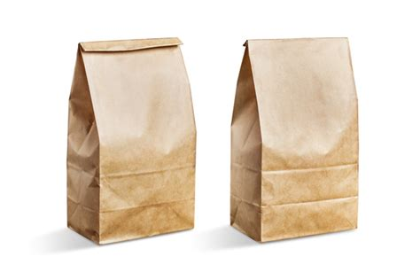 How To Make A Brown Paper Bag - brown paper bag vectors photos and psd files free