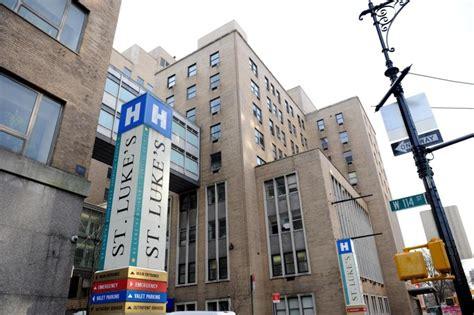 St Luke Detox Nyc by Mount Sinai St Luke S Hospital Is Set To Take A Load