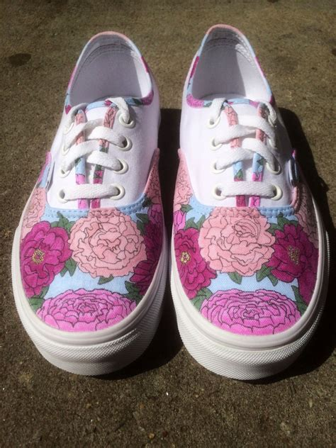 vans wedding sneakers custom wedding shoes vans or keds floral design