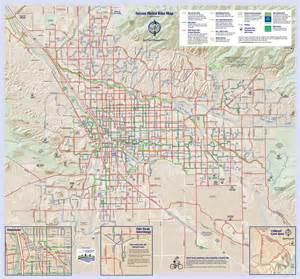maps tucson arizona tucson bike map maplets