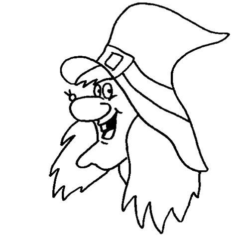 imagenes de brujas faciles para dibujar la bruja de halloween para colorear dibujos de halloween