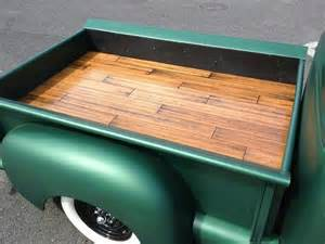 custom wood bed 55 chevy truck ideas wood