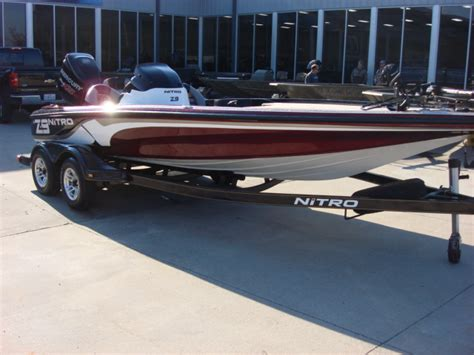 nitro bass boat rigging nitro bass boats usedz series z 9 boattest