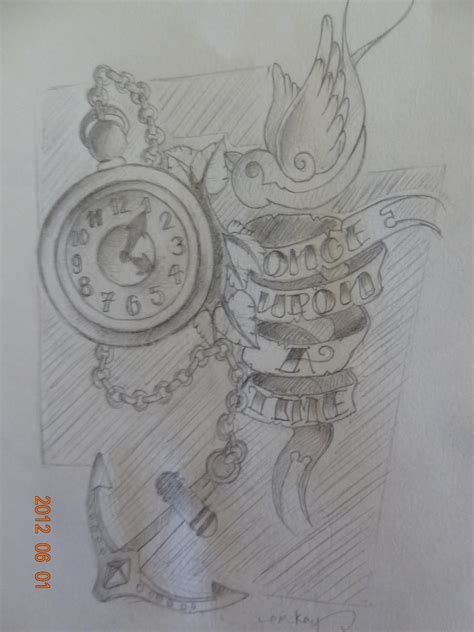 once upon a time tattoo portfolio once upon a time sketch time