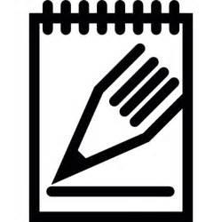 crayon et bloc notes t 233 l 233 charger icons gratuitement