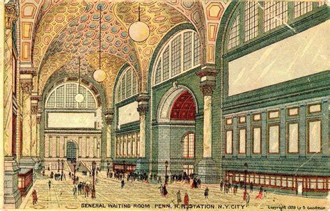 new york station books new york in postcards 9 penn station interiors