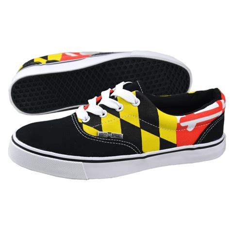 maryland sneakers maryland flag shoes route one apparel