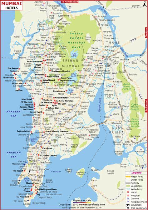 mumbai map image www mappi net maps of cities bombay mumbai