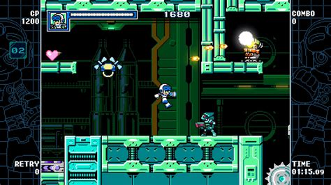 design intake there should be a little mighty bar like rockman corner mighty gunvolt burst review it s mighty good