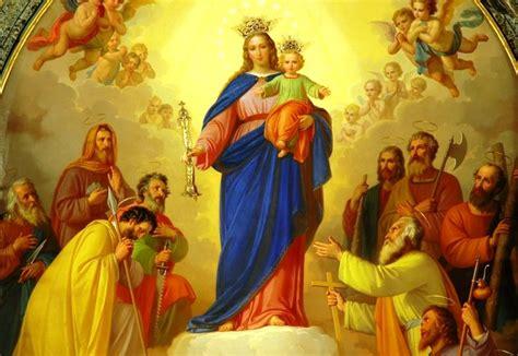 imagenes de la virgen maria grandes sagrados corazones jesus y maria virgen maria auxiliadora