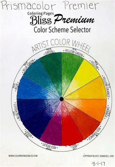 Color Scheme Selector | color wheel tri tone sets worksheets