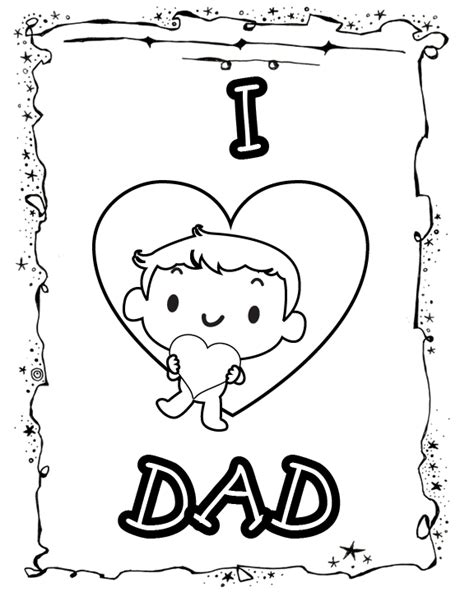 printable birthday cards to color for dad free printable birthday cards for dad to color