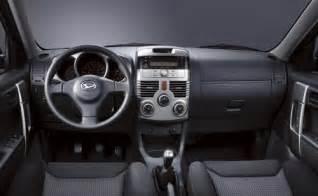Interior Daihatsu Terios Daihatsu Terios Interior Pics