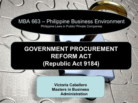 Mba Act by Mba663 Philippine Business Environment Ppt Presentation