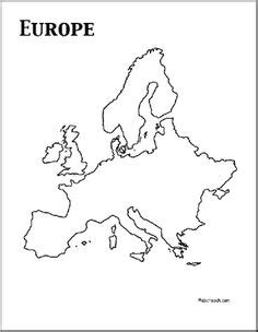 Europe Continent Outline by 1000 Images About Continent Box Europe On Unit Studies Continents And Europe