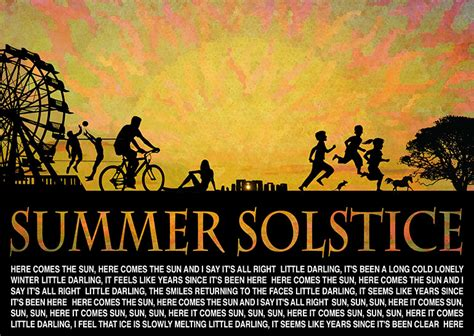here comes the sun seasons and solstices summer solstice 187 idig creative