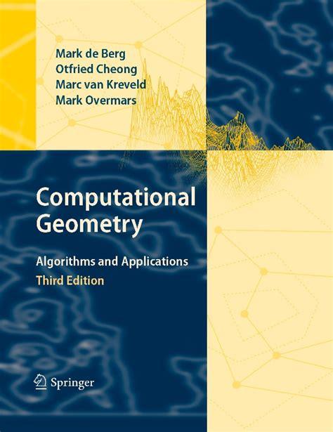 Cs633 Fall 2012 Computational Geometry Main Homepage