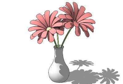 Sketchup Vase by Sketchup Components 3d Warehouse Flower