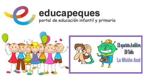 Educapeques Portal De Educaci N Infantil Y Primaria | educapeques para infantil y primaria