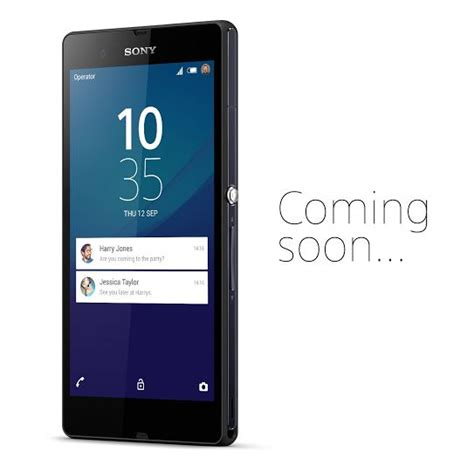 xperia lock screen pattern xperia z teased with android 5 0 lollipop s lock screen