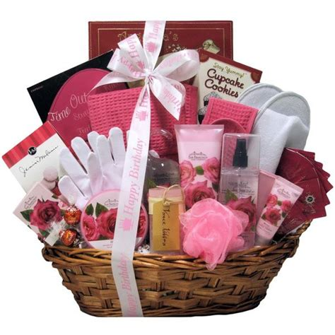 36 best birthday gift baskets for her images on pinterest
