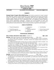 strategic project program office pmo manager resume