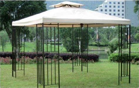 Pavillon Metall Rund Preis by Metall Pavillon Amazonas 3x3m Creme Partyzelt Zelt