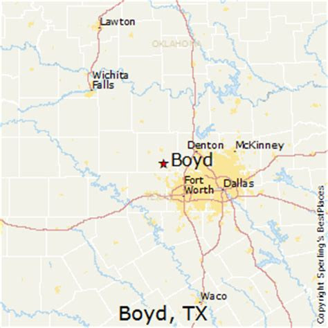 map of boyd texas best places to live in boyd texas
