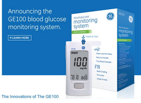 email format ge healthcare ge healthcare launches the ge100 blood glucose monitoring