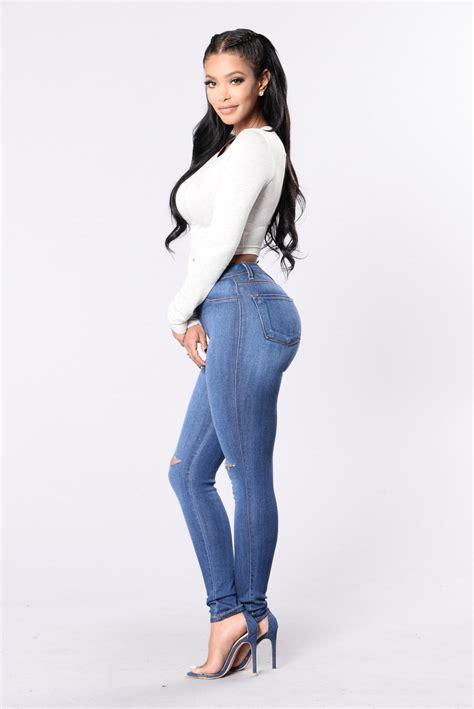trand mode canopy jeans medium wash