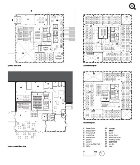 architecture school floor plan school of architecture ume 229 sweden henning larsen