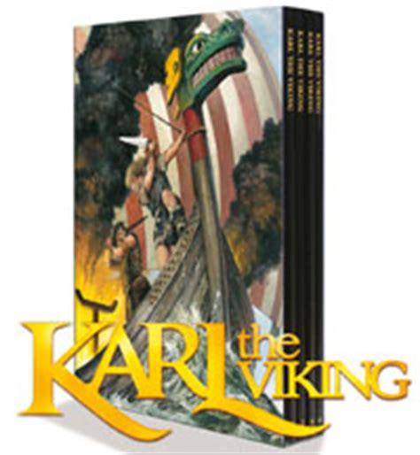 cowboy viking deluxe trade paperback books karl the viking the collection deluxe 4 volume set from