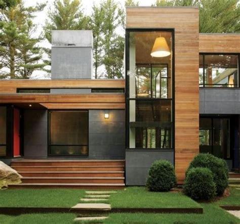 desain rumah panggung beton gambar model rumah minimalis terbaru berbahan kayu