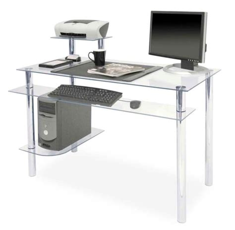 Clear Office Desk with 17 Contemporary And Minimalist Clear Office Desk Designs