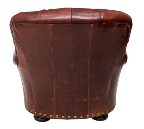 brown leather tufted ottoman 2 brown leather tufted club chair ottoman