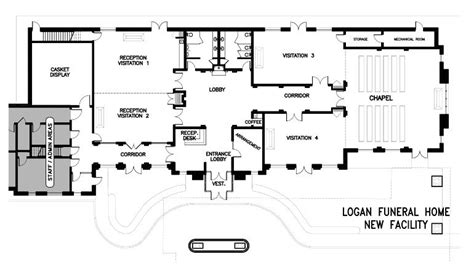 funeral home floor plans bardencommercial floor plans misc pinterest