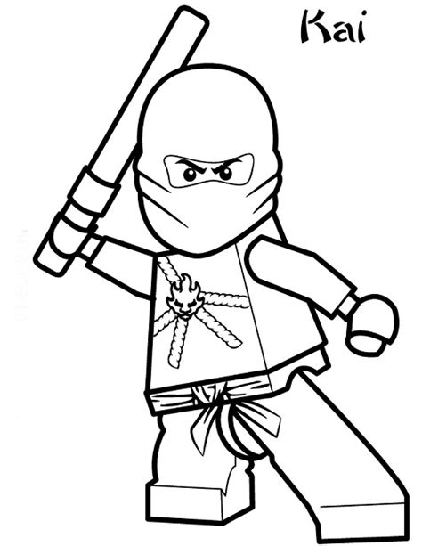lego ninjago coloring pages kai dx lego ninjago coloring pages kai superhero pinterest