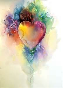 Jim Dine Flowers - 1000 ideas about watercolor heart on pinterest jim dine
