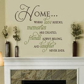 inspirational quotes decor for the home motivational quotes about home quotesgram