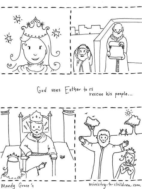 bible story coloring pages quot story of esther quot coloring page