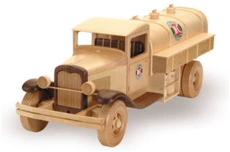 gas oil truck  woodworking plan
