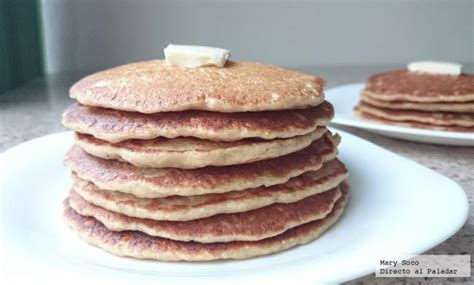 imagenes de unos hot cakes hot cakes de avena y pl 225 tano receta