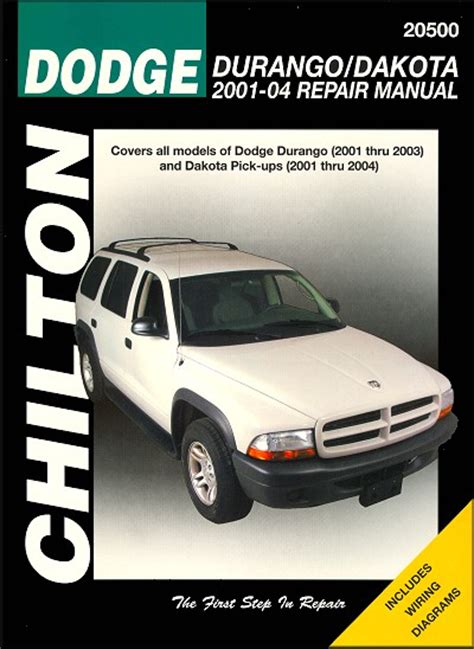 2004 2006 dodge durango factory service diy repair manual free p dodge repair manuals chilton diy manuals autos post