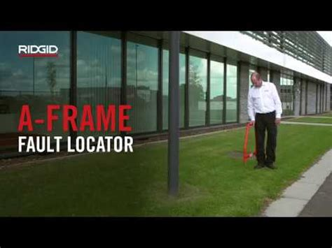 a frame cable fault locator ridgid a frame fault locator